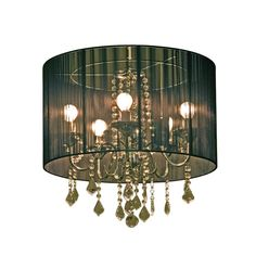 Freedom- Regis Chandelier (Shaded) 54cm for bedroom
