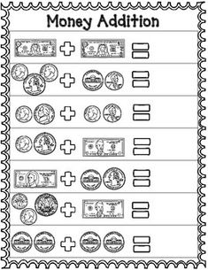 money worksheets for 2nd grade teachers pay teachers my store money worksheets 2nd grade. Black Bedroom Furniture Sets. Home Design Ideas