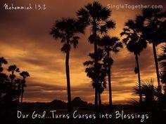Our God reverses curses.
