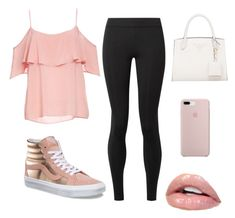 """Rose Gold Vans"" by ellag130 on Polyvore featuring BB Dakota, The Row and Vans"