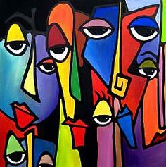 "Figure out even more info on ""modern abstract art painting"". Have a look at our website. Kunst Picasso, Picasso Art, Kunst Portfolio, Artist Portfolio, Tom Fedro, Pop Art, Abstract Face Art, Cubism Art, Watercolor Artists"