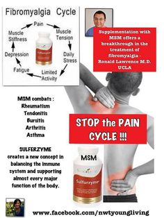 More relief for Fibromyalgia!  purelivingoil@gmail for info and ARNP consult. www.youngliving.com use 1492362 for enrollment info and I will send you an Essential Oil Reference Book if you purchase a premium starter kit.
