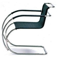 Bauhaus, Cantilever Chair by Ludwig Mies van der Rohe. This one such piece by Mies Van Der Rohe is by all definition a classic in the furniture world. Design Bauhaus, Bauhaus Style, Bauhaus Art, Bauhaus Chair, Bauhaus Furniture, Ludwig Mies Van Der Rohe, Classic Furniture, Contemporary Furniture, Industrial Revolution