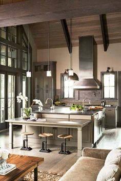 Industrial Kitchen Designs-40-1 Kindesign