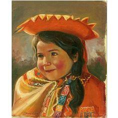 Trademark Fine Art Imillita Canvas Art by Jimenez, Size: 35 x 47, Multicolor