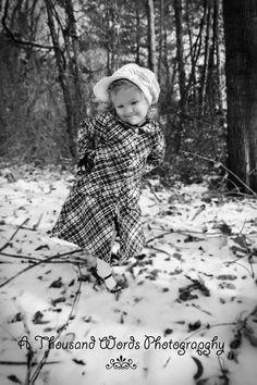 Winter Snow Photoshoot Childrens Portrait Little Girl A Thousand Words Photography By Mary Ward Facebook Athousandwordsphotographybymaryward