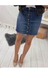DS sukňa (nebesky modrá) Denim Skirt, Skirts, Fashion, Moda, Fashion Styles, Skirt, Fashion Illustrations, Jean Skirt