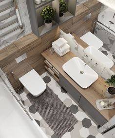 55 Small Bathroom Design Ideas On a Budget - Bathroom Ideas Small Bathroom Storage, Tiny House Bathroom, Bathroom Spa, Downstairs Bathroom, Budget Bathroom, Modern Bathroom Design, Bathroom Interior Design, Bathroom Ideas, Bathroom Hacks
