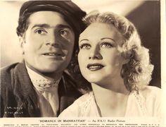 Ginger Rogers Romance in Manhattan
