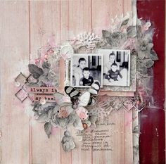 I'm here to share my finalist creations for the Kaisercraft Design Team! Scrapbook Layout Sketches, Scrapbooking Layouts, Scrapbook Pages, Couple Scrapbook, Wedding Scrapbook, General Crafts, Layout Inspiration, Mini Books, Altered Art