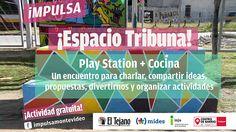 Mañana hay PlayStation y cocina en Espacio Tribuna en el barrio Peñarol. PlayStation + Cocina es una idea llevada adelante por la Organización…