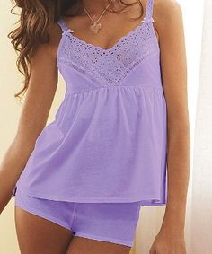 cute pj's for the summer from vs....