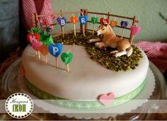 Geburtstagstorte für kleine Pferdefreunde