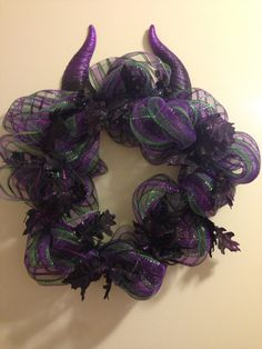Maleficent wreath
