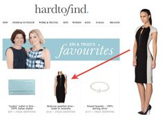 SO exciting to see the LB Bodycon dress featured in the hardtofind.com.au favourites newsletter today!! Such an incredible response from the new January styles :))