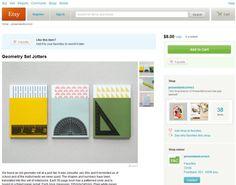 Geometrieseteinband #notebook #diary #stationery #notizbuch #tagebuch #papier #notizbuchblog