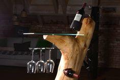 #woodwork#woodart#wine#winebar#winelover#winefurniture#winefriends#winewood Warm Colors, Wine Rack, Designer, Modern Design, Lamps, Tables, Boards, Woodworking, Restaurant