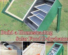 Build a Homesteading Solar Food Dehydrator