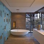 La Lucia by SAOTA and Antoni Associates Modern Bathroom Design, Pictures, Remodel, Decor and Ideas Superb bathroom interior design ideas Mod. Modern Bathroom Design, Bathroom Interior Design, Bathroom Designs, Bathroom Ideas, Modern Bathtub, Modern Bathrooms, Interior Modern, Shower Ideas, Modern Design