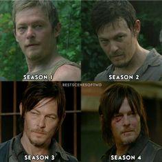 The transformation of Daryl Dixon