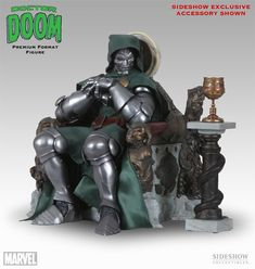 Sideshow Doctor Doom Premium Format Exclusive Edition Fantasy Horror