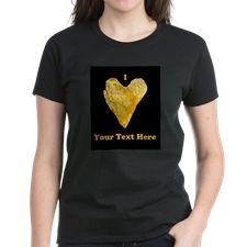 Personalizable Heart Shaped Potato Chip T-Shirt