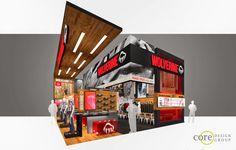 Wolverine - 30' x 40' Corner Peninsula: Outdoor Retailer