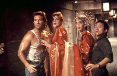 Kurt Russell, Kim Cattrall, Suzee Pai, Dennis Dun in Big Trouble in Little China Kim Cattrall, Dwayne Johnson, China, Videogames, James Hong, Movie Sequels, Edge Of Tomorrow, Dennis, Are You Not Entertained