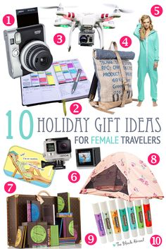 Holiday Gift Ideas for Female Travelers | The Blonde Abroad
