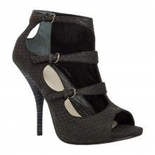 LEON MAX 'Epic' - Snakeskin Cut-Out Sandals