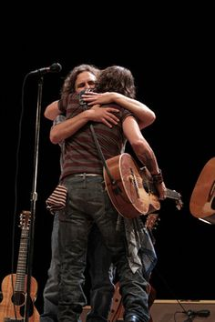 Eddie Vedder and Johnny Depp. Sweet baby jesus....
