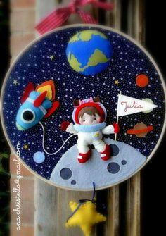 Guirlanda Astronauta