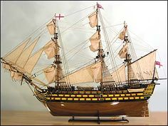 Our best HMS Victory model produced to date. A scratchbuilt ship model of the HMS Victory. Model Sailing Ships, Model Ships, Legend Of The Seas, Hms Victory, Nautical Art, Tall Ships, Magical Creatures, Gods And Goddesses, Scale Models