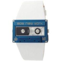EOS New York 302SWHTBLU Mixtape White with Blue Watch