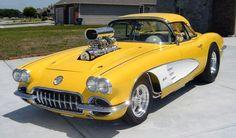 1959 Chevrolet Corvette Roadster Pro-Street Ready to Show or GO for sale Chevrolet Corvette, Chevy, Corvette For Sale, Corvette Summer, Yellow Corvette, Classic Corvette, Drag Cars, Rat Rods, Hot Cars