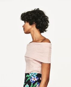 Image 3 of BANDEAU T-SHIRT from Zara