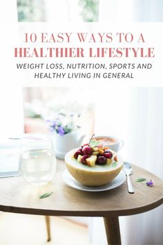 Are you planning to live a healthier life? Click through for 10 super easy ways…