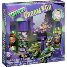 Nickelodeon Teenage Mutant Ninja Turtles Groom & Go Gift Set, 5 pc