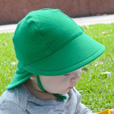 5b8c9601 Green Preschool Legionnaire Baby & Kids Sun Hat by Bedhead Hats. UPF50+  with '