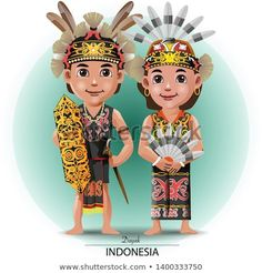 Find Vector Illustration Dayak Kalimantan Traditional Cloth stock images in HD and millions of other royalty-free stock photos, illustrations and vectors in the Shutterstock collection. Thousands of new, high-quality pictures added every day. Little Girl Cartoon, Little Girls, Dance Vector, Borneo, Drawing For Kids, Image Collection, New Pictures, Traditional Outfits, Royalty Free Photos
