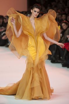 View all the detailed photos of the Stephane Rolland haute couture spring 2014 showing at Paris fashion week. Look Fashion, Fashion Details, Fashion Art, Editorial Fashion, High Fashion, Fashion Show, Womens Fashion, Fashion Design, Couture Fashion