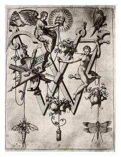 uoted from: 022-Letra X- Cristo-Neiw Kunstliches Alphabet 1595- Johann Theodor de Bry | Flickr - Photo Sharing!