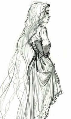 Jim Kim concept art for Rapunzel