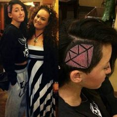 Noah Cyrus Pink Diamond Hair