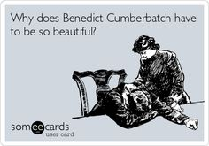 So I have a dilemma... I think I am becoming Benedicted and I don't know what to do. Could a Cumbercookie please help me...