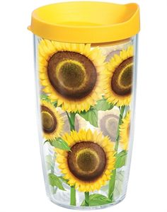Sunflowers and coffee? Perfect cup for my momma!