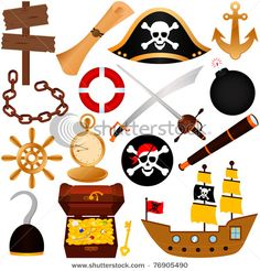 Find Vector Pirate Theme Chest Gold Compass stock images in HD and millions of other royalty-free stock photos, illustrations and vectors in the Shutterstock collection. Thousands of new, high-quality pictures added every day. Pirate Birthday, Pirate Theme, Pirate Dress Up, Pirate Bedding, Pirate Hook, Pirate Images, Happy Party, Nautical Party, Disney Crafts