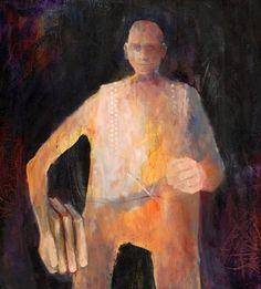 Mel McCuddin, The Perennial Student 2008, oil on canvas