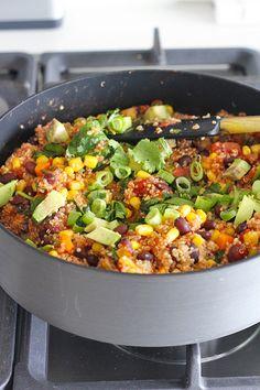 One Pan Mexican Quinoa.