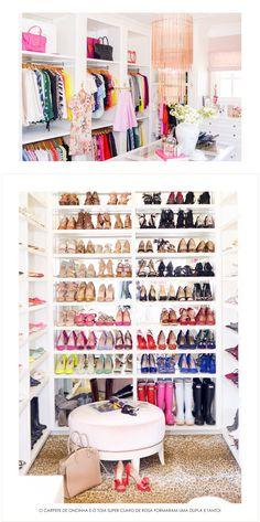 O closet/escritório dos sonhos!